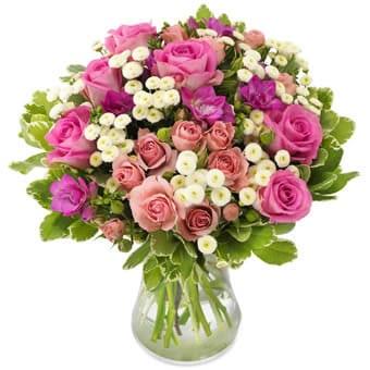 Rosenmeer Blumenstrauß