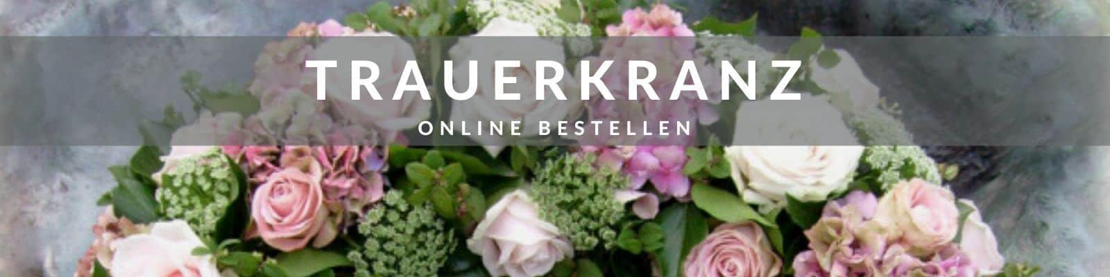 Trauerkranz mit Schleife online bestellen - Beerdigungskranz