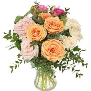 Umwerfende Rosen - Blumenstrauß in München verschicken - Blumenversand