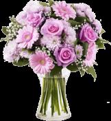 Blumenstrauß Lächeln