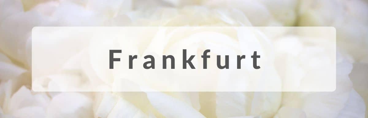 Blumenversand Frankfurt - Blumen in Frankfurt verschicken - Blumen versenden
