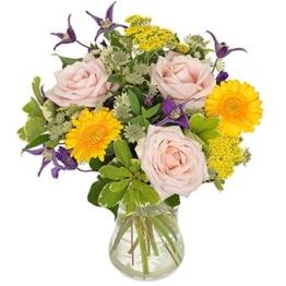 Blumen verschicken - Fröhliche Momente