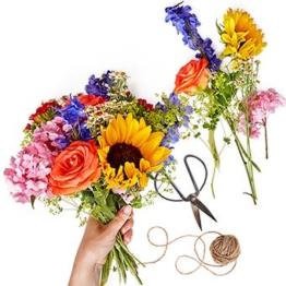 Floristen Design Bunt