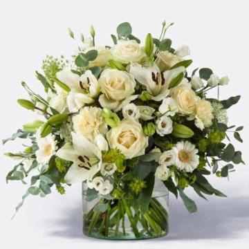 Blumenstrauß weiß - Blumenstrauß mit weißen Blumen