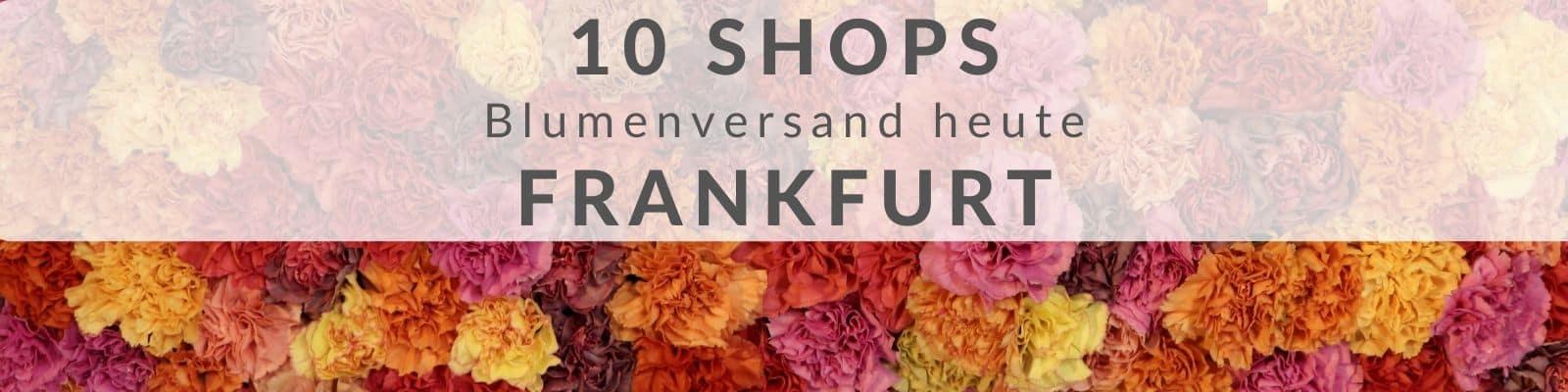 Blumen verschicken Frankfurt online