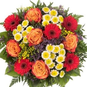 Blumenversand München - Fleurop - Blumenstrauß verschicken Liebe Grüße