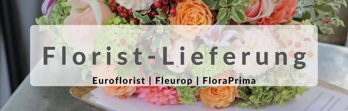 Blumen verschicken - Florist-Lieferung