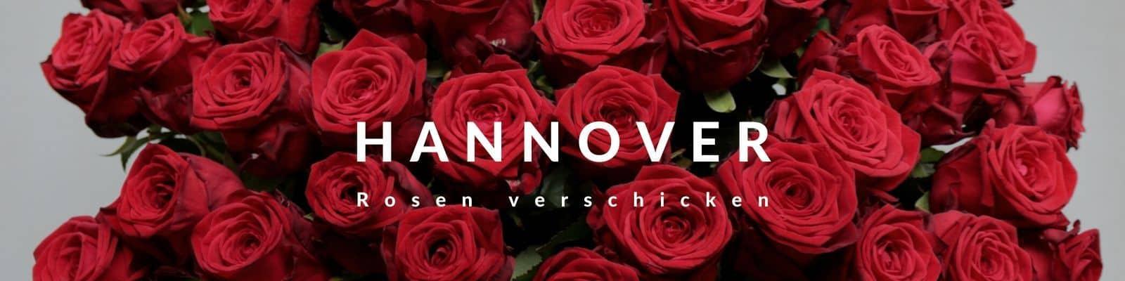 Rosen verschicken Hannover - Blumenversand