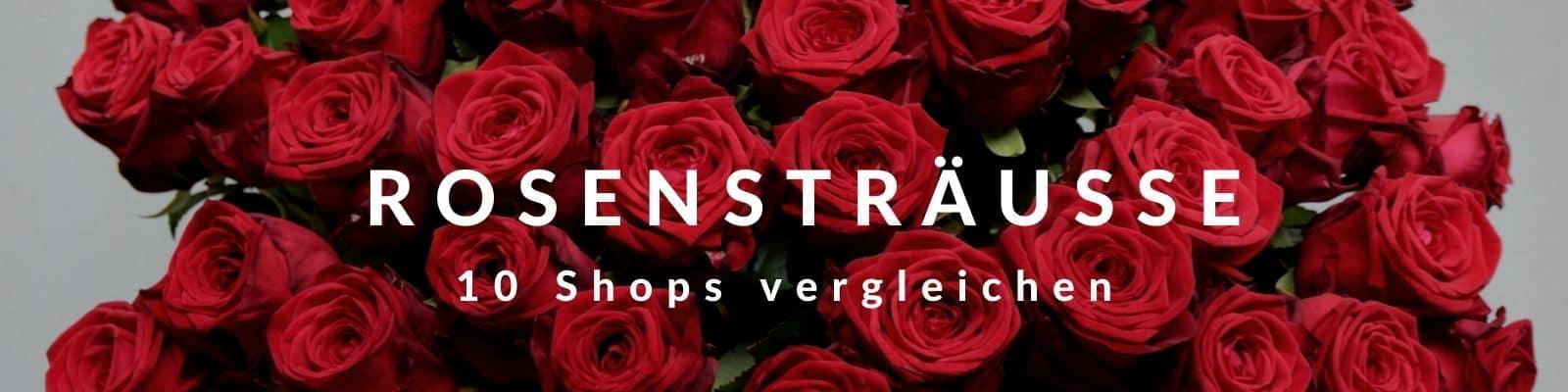 Rosenstrauß - Rosensträuße mit roten Rosen