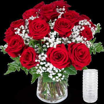 Rosenstrauß verschicken - Rote Rosen