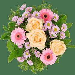 Blumenstrauß schöne Grüße Blumen verschicken