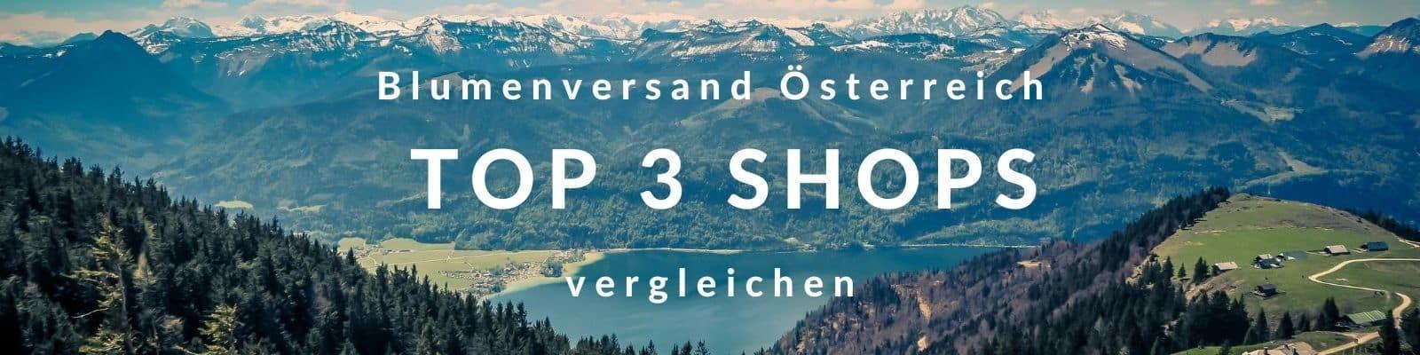 Blumenversand Österreich - Blumen verschicken Österreich und Wien