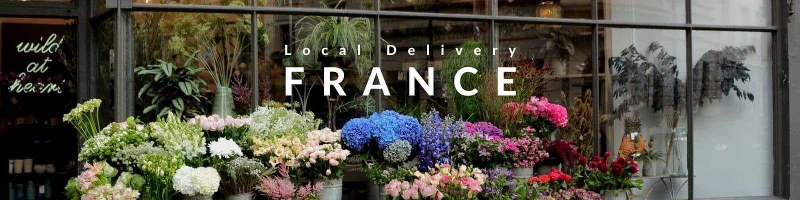 Send Flowers to France - Paris - Marseille - Lyon - Bordeaux