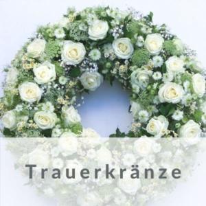 Trauerkanz mit Schleife - Beerdigungskranz online
