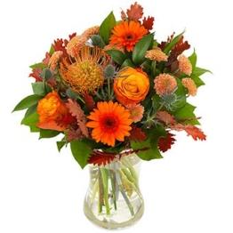 Farbenspiel Herbst Blumen verschicken