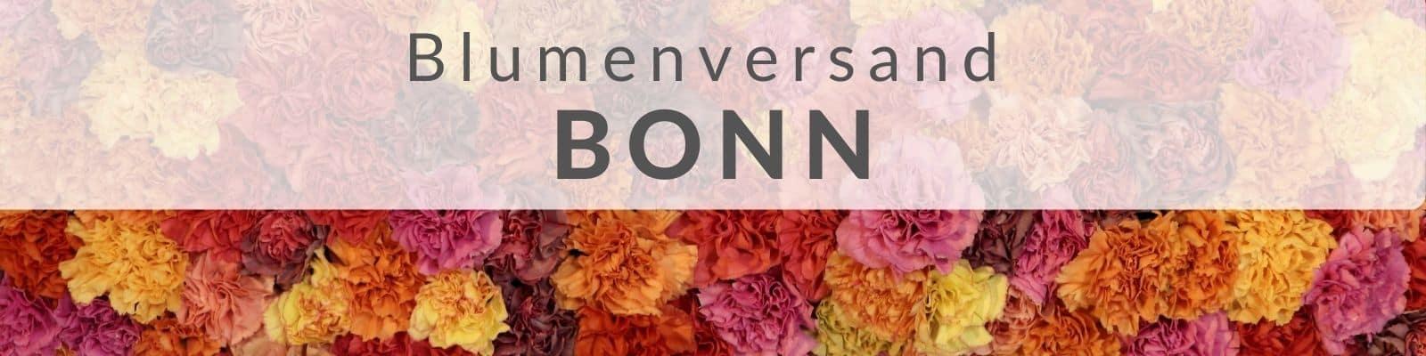 Blumenversand Bonn - Blumen verschicken