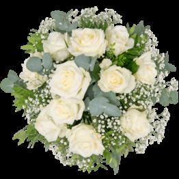 Weiße Rosen verschicken