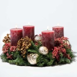 Adventskranz-Kerzenschein-Bastel-Set