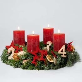 Adventskranz-Weihnachtszauber-Bastel-Set