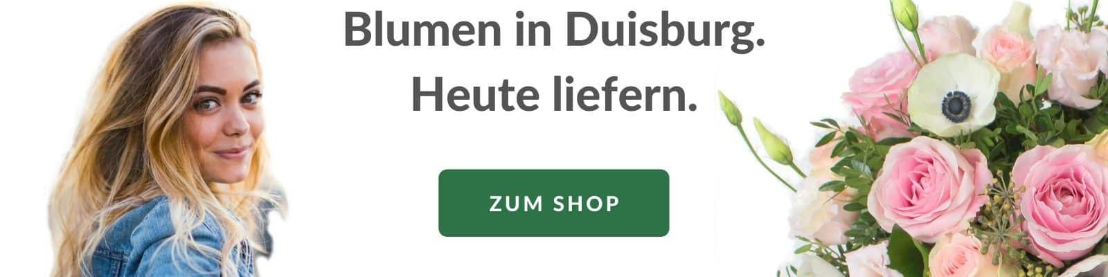 Blumen verschicken Duisburg - Blumenversand