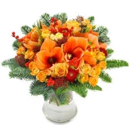 Blumenstrauss-Weihnachten-Advent