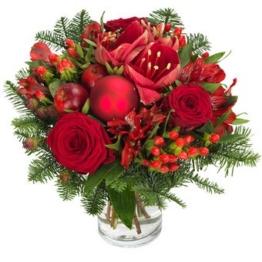Blumenstrauß Weihnachtslied