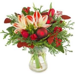 Weihnachten-Advent-Blumenstrauss