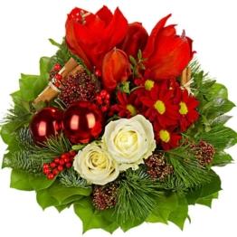 Blumenstrauss-Weihnachtszeit