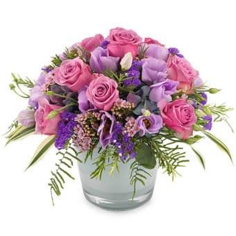 Blumenstrauß verschicken - Blumenversand -Lila