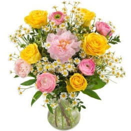 Frühlingsblumenstrauß verschicken - Blumenversand