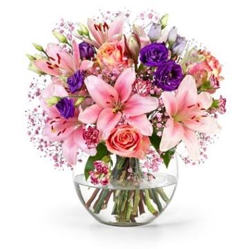 Blumen - Blumenversand Rosa-Lila