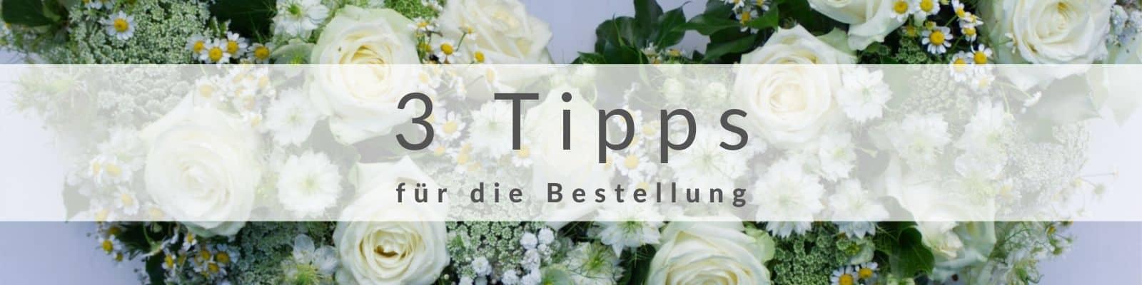 Beerdigungskranz - Trauerkranz mit Schleife online bestellen