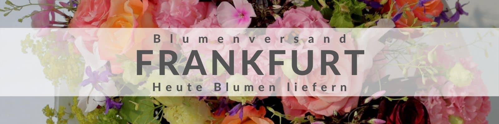 Blumen verschicken Frankfurt - Blumenversand