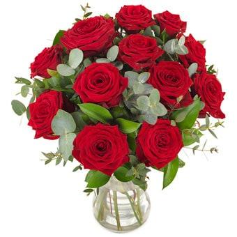 Rosenstrauß verschicken: Mit Liebe