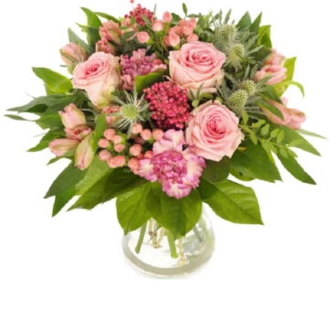 Rosa Klassiker - Blumenstrauß verschicken