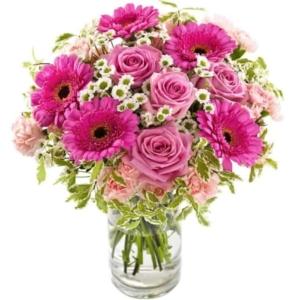 Rosa Wolke Blumenstrauß - Blumenversand