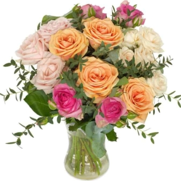 Umwerfende Rosen - Blumenstrauß