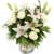 Ich denke an Dich - Blumen verschicken in weiß