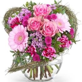Von Herzen - Blumenstrauß