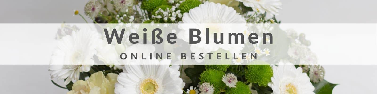 Weißer Blumenstrauß bestellen und verschicken