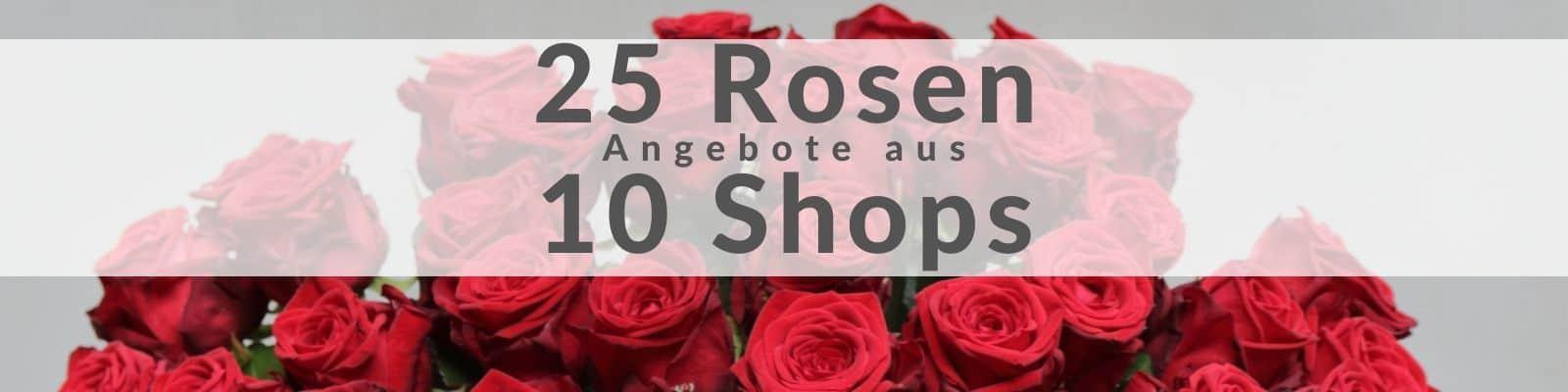 25 Rosen bestellen
