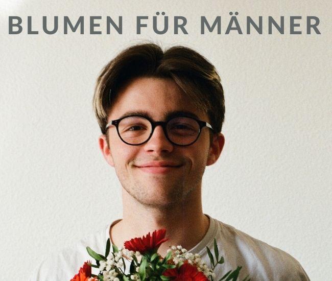Blumenstrauß für Männer   Blumen für Männer