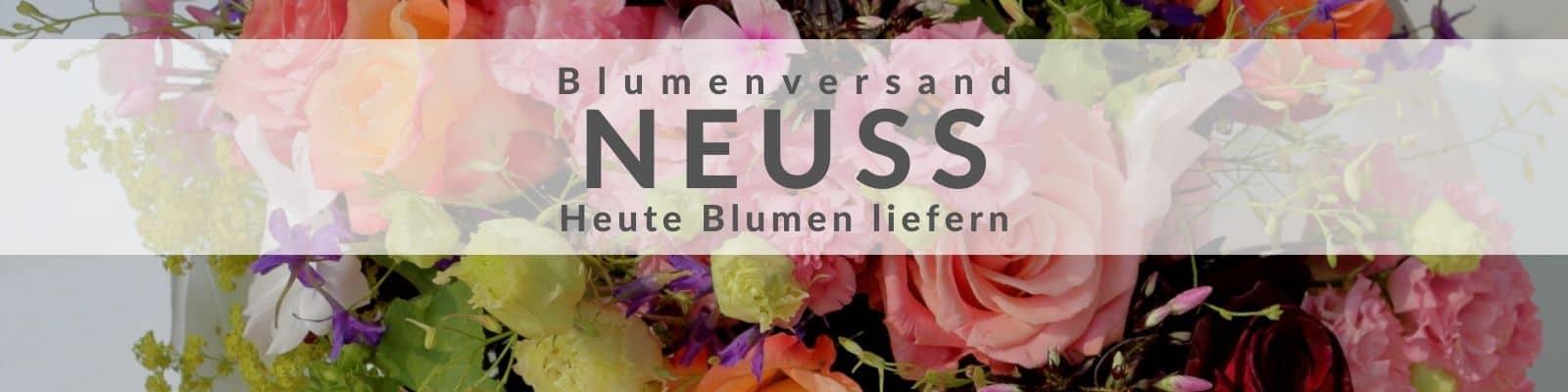 Blumen verschicken Neuss - Blumenversand