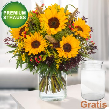 Sonnenblumen verschicken -