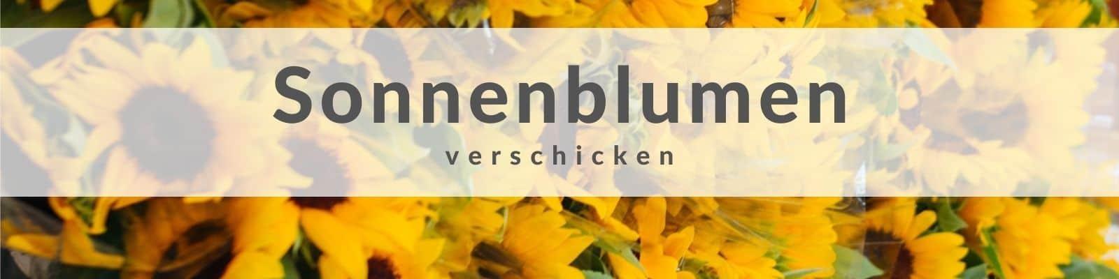 Sonnenblumen verschicken
